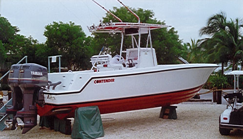 Contend 1 boat review by david pascoe contender 25 Chris Craft Marine Engines at alyssarenee.co