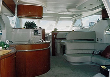 boat reviews by david pascoe maxum 46 1998