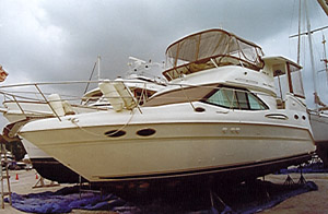 Boat Review at Yacht Survey Online : Sea Ray 370 AC