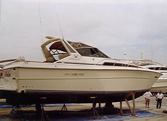 SeaRay39Exp boat review by david pascoe sea ray 39 express 1997 sea ray sundancer wiring diagram at n-0.co