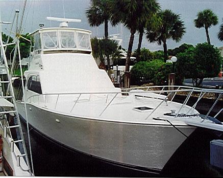 Boat Review by David Pascoe - 46 Post Convertible